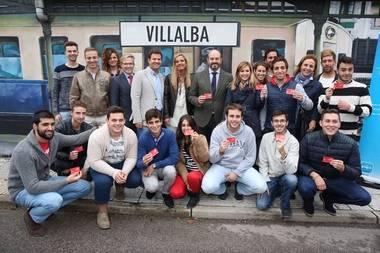 Nuevas Generaciones celebra el primer año del Abono Joven a 20 euros en Collado Villalba