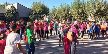 La Marcha Rosa contra el cáncer de mama ha recaudado 1.379,95 euros en Alpedrete