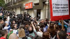 El PSOE solicita apoyo policial para garantizar el acceso a Ferraz en el comité del domingo