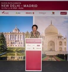 Madrid, conectado con la India en un vuelo directo a Nueva Delhi
