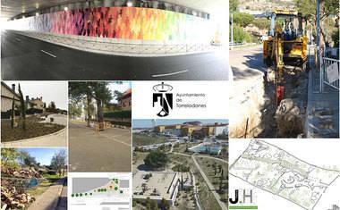 Torrelodones ha puesto en marcha grandes inversiones para mejorar espacios públicos e infraestructuras
