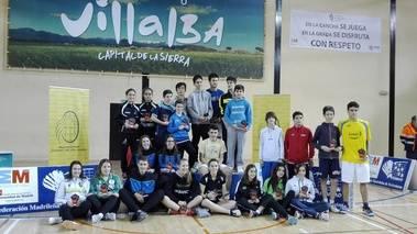 Collado Villalba albergó una cita deportiva de primer nivel con su Máster Nacional Sub 13 y Sub 17 de Bádminton