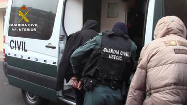 La Guardia Civil desmantela una célula de ciudadanos albaneses especializada en robos en viviendas de alto nivel adquisitivo.
