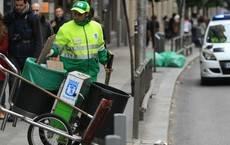 C's pide al gobierno de Carmena que si aumenta el presupuesto de limpieza sea para incrementar el número de limpiadores en la calle