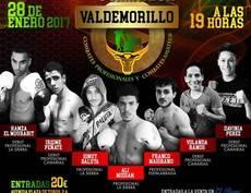 El púgil local, Ali Modian protagoniza la velada de boxeo de Valdemorillo