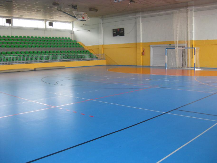 El plan prisma permitir renovar el polideportivo eduardo for Piscina cubierta galapagar