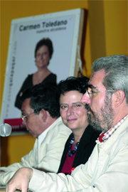 Carmen Toledano, durante un acto sobre urbanismo (Foto: R. MIGUEL PEÑA)