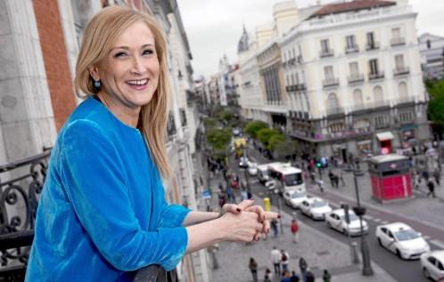 Cristina Cifuentes anunció ayer su candidatura a presidir el PP de Madrid