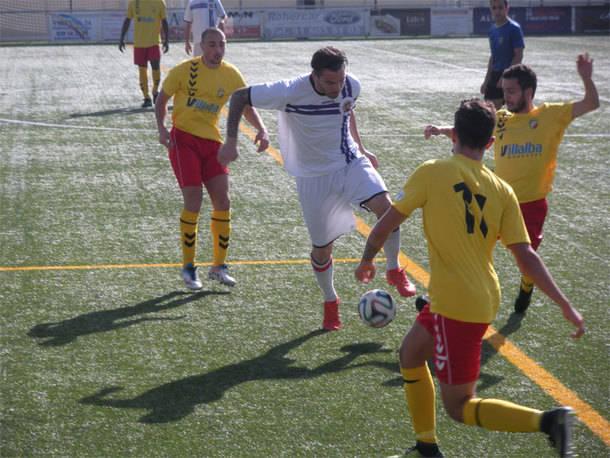 Tres Cantos fue muy superior al C.U.C. Villalba (3-0)