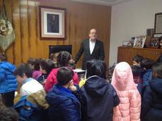 Los alumnos del CEI Padre Gerardo Gil visitan el Ayuntamiento de El Escorial