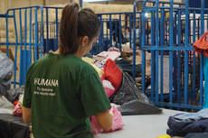 'Humana Fundación' recogió en Collado Mediano 20 toneladas de textil usado