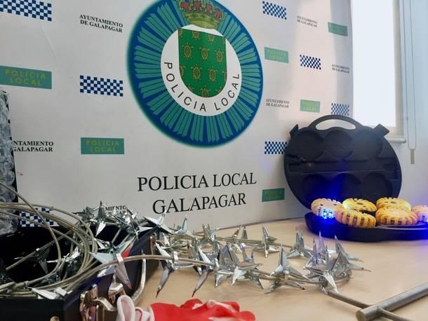 La Policía Local de Galapagar estrena nuevo equipamiento