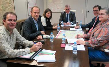 La alcaldesa de Torrelodones se reúne con el director del Consorcio de Transportes