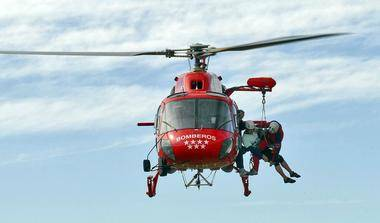 La Comunidad destina 5,6 millones a los helicópteros del Cuerpo de Bomberos