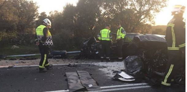 El pasado sábado se saldó con un muerto y tres heridos graves en a carreteras de la Sierra