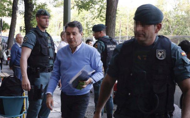 Ignacio González, tras pasar dos noches en el calabozo, declarará hoy ante el juez Velasco.