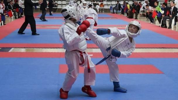 Collado Mediano presenta el V Open Internacional de Karate Shitoryu