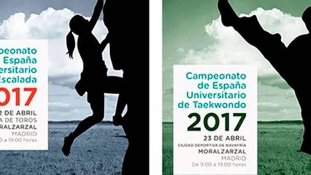 Moralzarzal acoge los Campeonatos de España Universitarios de Escala y Taekwondo