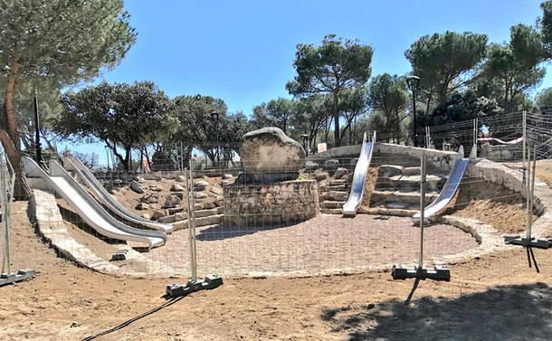 Finalizadas las obras del Parque 'JH' de Torrelodones