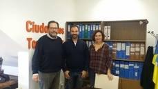 Ciudadanos (Cs) de Torrelodones se reunió con la asociación de empresarios 'Torrempresarial'