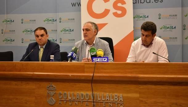 Ciudadanos Collado Villalba defiende unos presupuestos enfocados a revitalizar la economía local