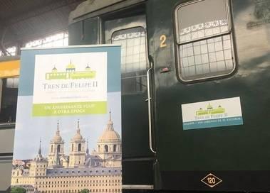 """Presentado el futuro """"Tren de Felipe II"""" de San Lorenzo de El Escorial"""