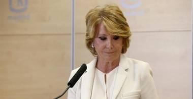 Comunicado del PP de la Comunidad de Madrid ante la dimisión de Esperanza Aguirre