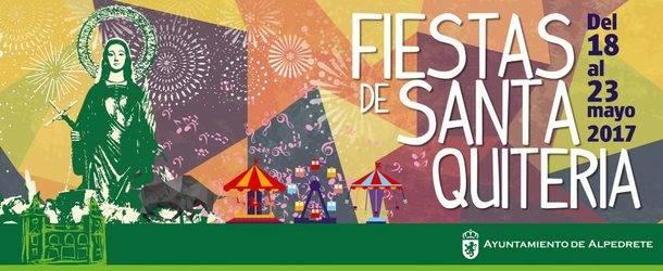 Del 7 al 23 de mayo, Fiestas en Alpedrete en honor de su patrona Santa Quiteria