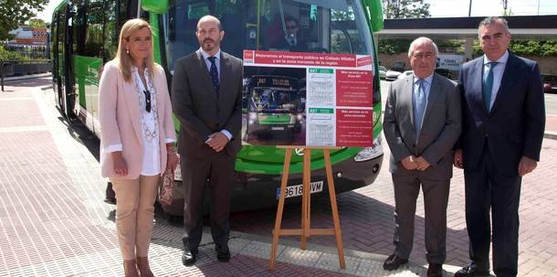 La línea 687 Madrid (Moncloa)-Collado Villalba (Estación autobuses) contará con 60 nuevas expediciones semanales