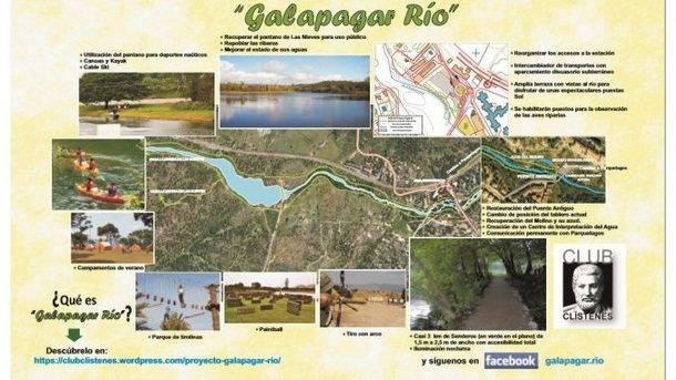 El club Clístenes presenta el proyecto 'Galapagar Río'