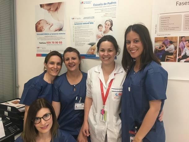 Más de 200 madres ya se han beneficiado del Servicio de Teleasistencia del Hospital de Villalba
