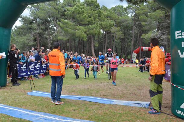 Enrique Meneses y Pilar Arias ganan la IX edición de la Vuelta a la Jarosa de Guadarrama