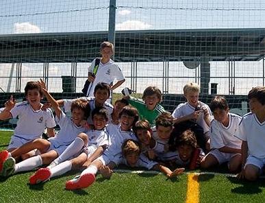 El fútbol se convierte en la opción estrella del Campus de Verano del Real Madrid