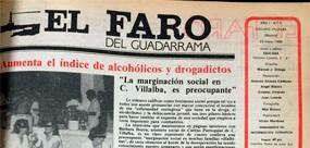 El Faro del Guadarrama cumplió ayer su trigésimo primer aniversario