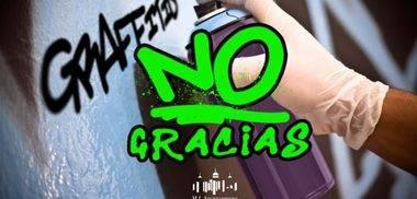 """""""¿Grafitis?. No, gracias"""", nueva campaña de limpieza en San Lorenzo del Escorial"""