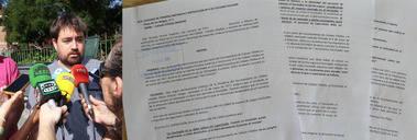 Izquierda Unida presenta en los Juzgados un escrito sobre el incumplimiento de normativa del castillo hinchable accidentado en Collado Villalba