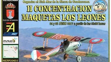 Guadarrama acogerá el 24 y 25 de junio la II edición de maquetas de aeromodelismo 'Los Leones'