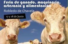 Robledo albergará la I Feria de Ganado, Maquinaria, Artesanía y Alimentación