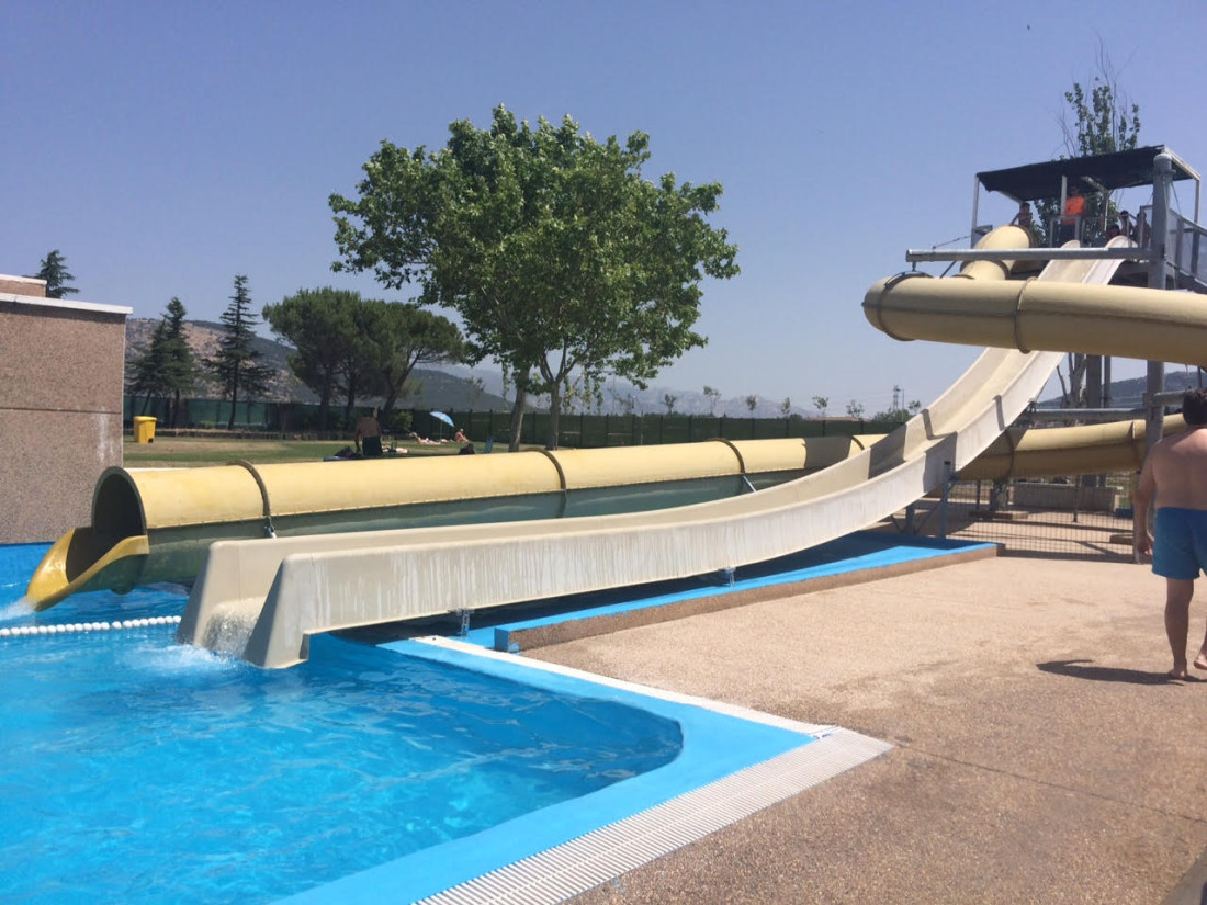 La piscina municipal de collado villalba adelanta su - Cuanto cuesta una piscina de arena ...