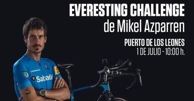 Guadarrama acoge el sábado el reto Everesting Challenge del ciclista Mikel Azparren