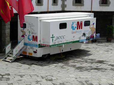 La Unidad Móvil de mamografía visitará Guadarrama del 6 al 13 de julio