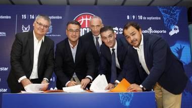 El Circuito de pretemporada de la ACB tendrá como sedes Moralzarzal, Logroño y Granada