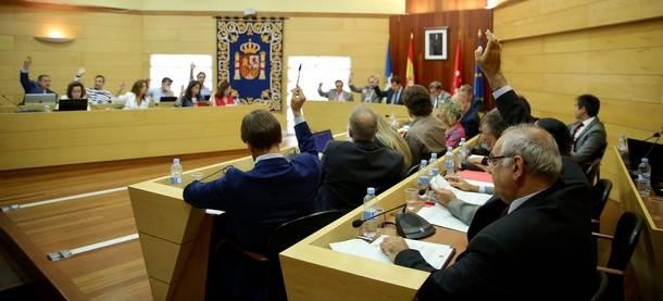 Aprobados los Presupuestos de Las Rozas que superan los 105 millones con el apoyo de PP y UPYD