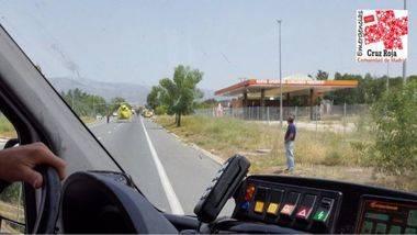 Seis heridos en un accidente múltiple en la M-608 entre Collado Villalba y Moralzarzal