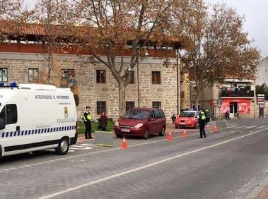 Campaña de control del estado de los vehículos que circulan por Moralzarzal