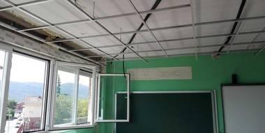 Las obras de mejora del Colegio El Raso de Moralzarzal siguen a buen ritmo