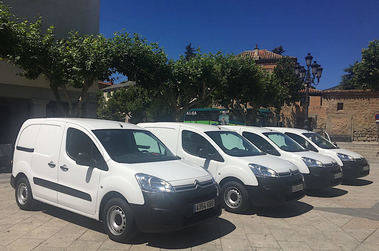 El Escorial amplía la flota de servicios municipales con cuatro nuevos vehículos