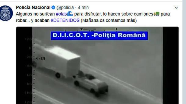 Desarticulado un grupo de Becerril de la Sierra especializado en asaltar camiones 'surfeando'