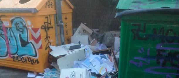 El Partido Popular acusa a Vecinos por Moralzarzal de la suciedad y abandono del municipio