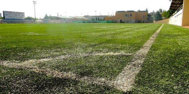 Obras de mejora en las instalaciones del campo de fútbol 'El Chopo' de Galapagar